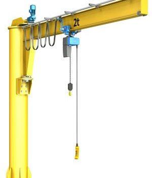pillar_Jib_Crane_model